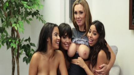 Lesbian Moms Love Their Daughters Teaser
